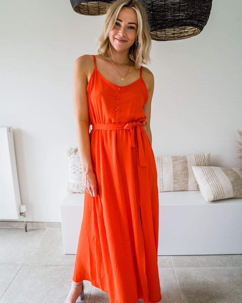 Mali Maxi Dress Orange