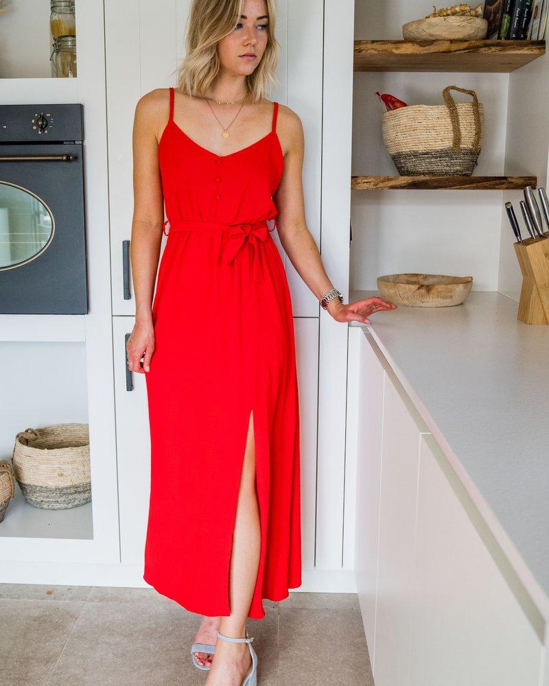Mali Maxi Dress Red