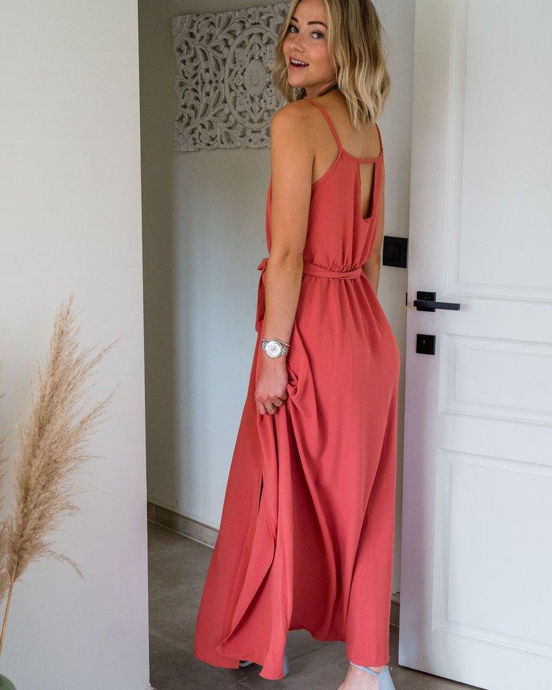 Mali Maxi Dress Corail