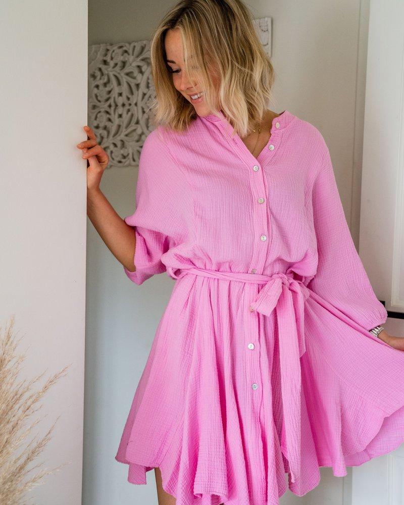 Tetra Dress Pink