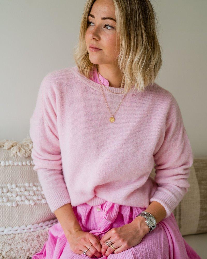 Loose Sweater Pastelpink
