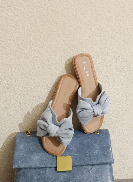 Bow Slippers Ciel