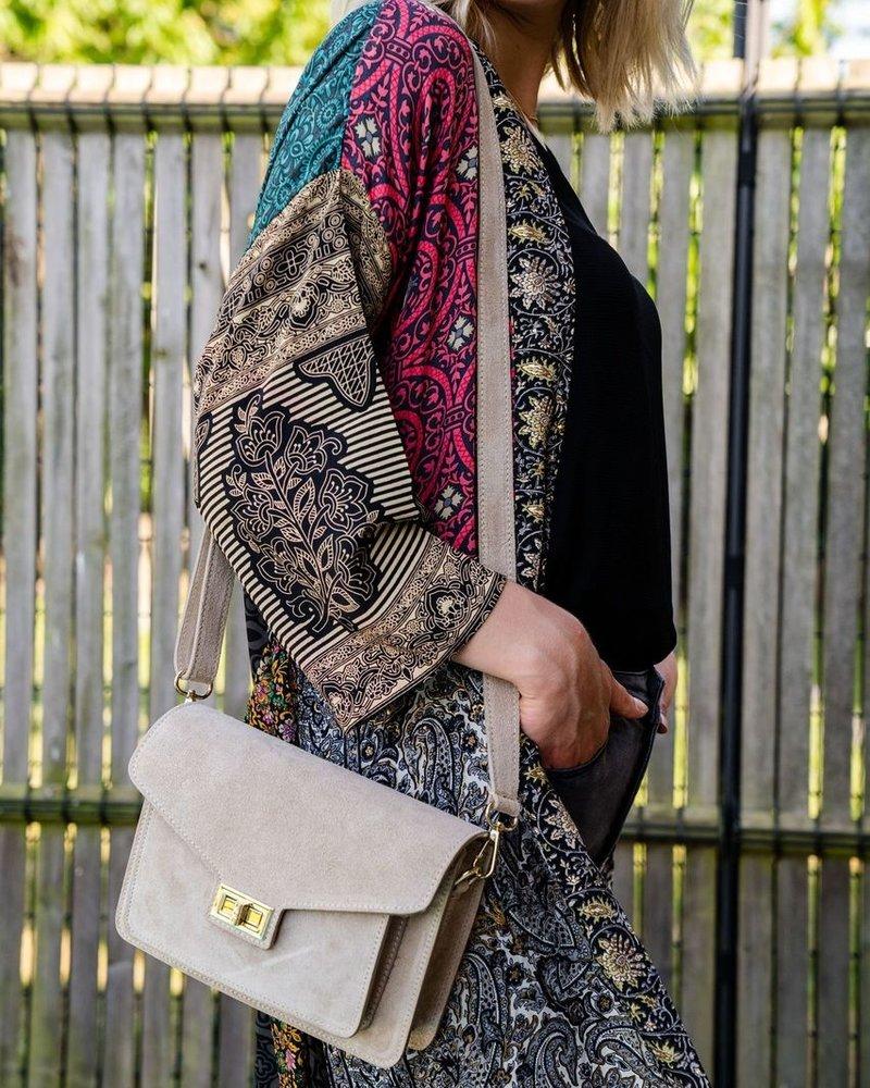 Preorder Leather Bag Beige