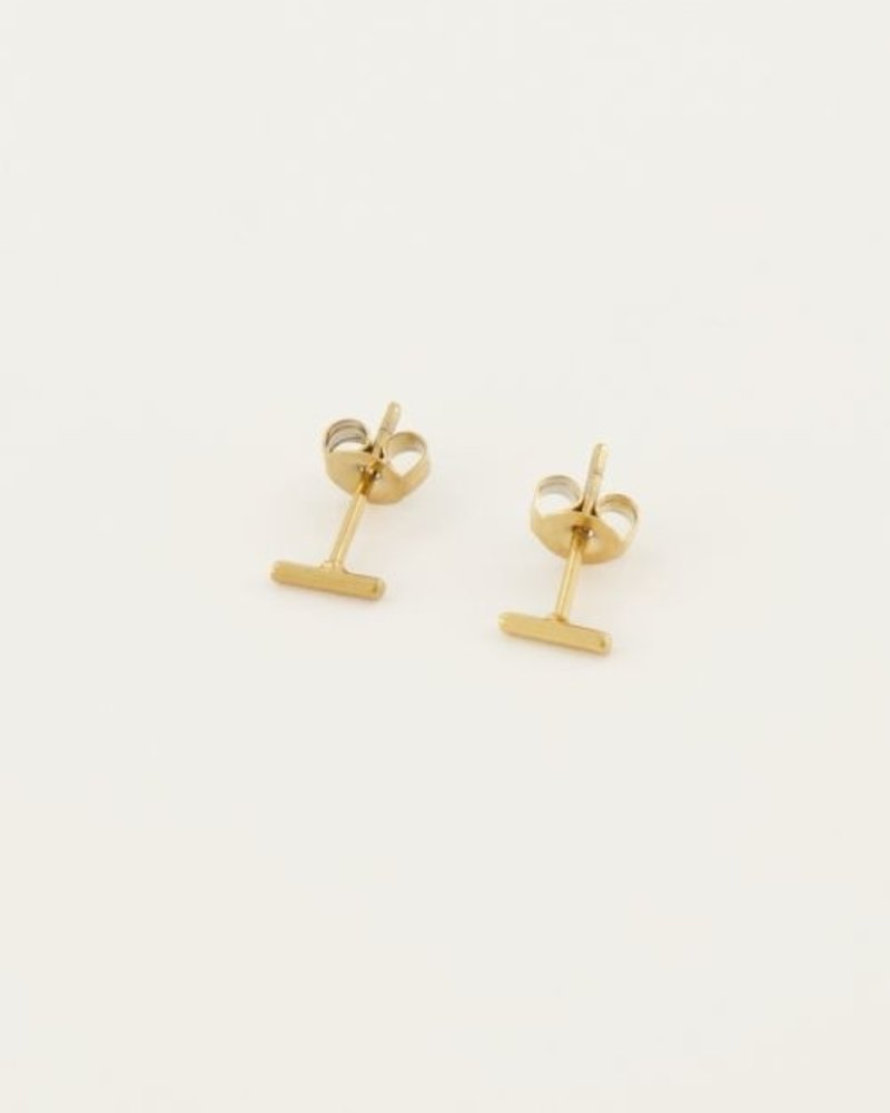 Studs Staafje Goud
