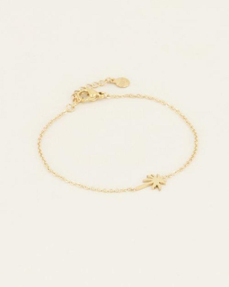 Armband Palmboom Goud