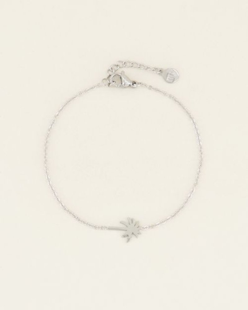 Armband Palmboom Zilver