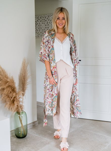 Boho Kimono Beige
