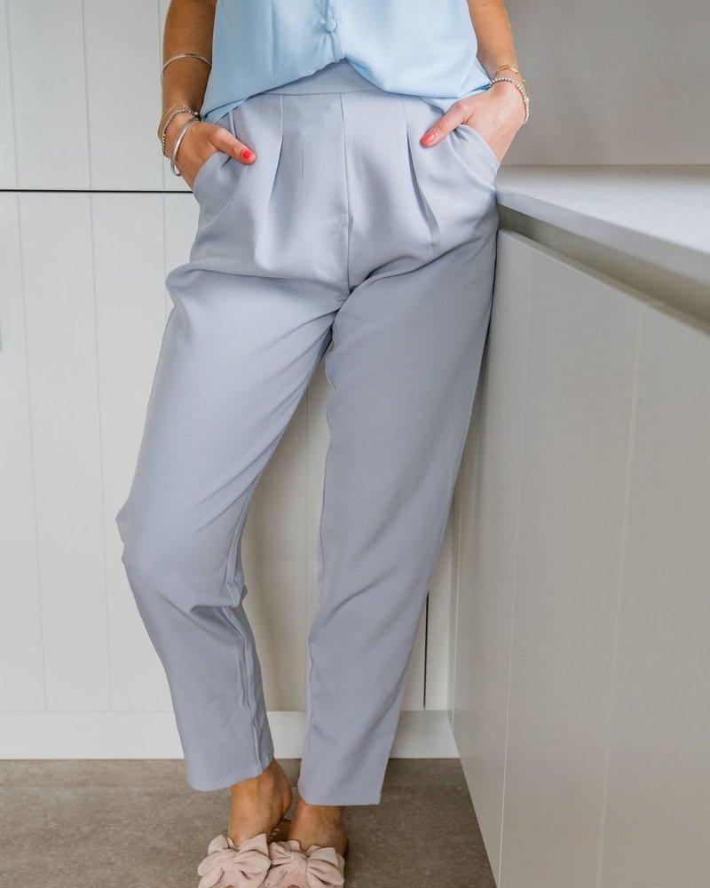 Famke Pants Soft Blue