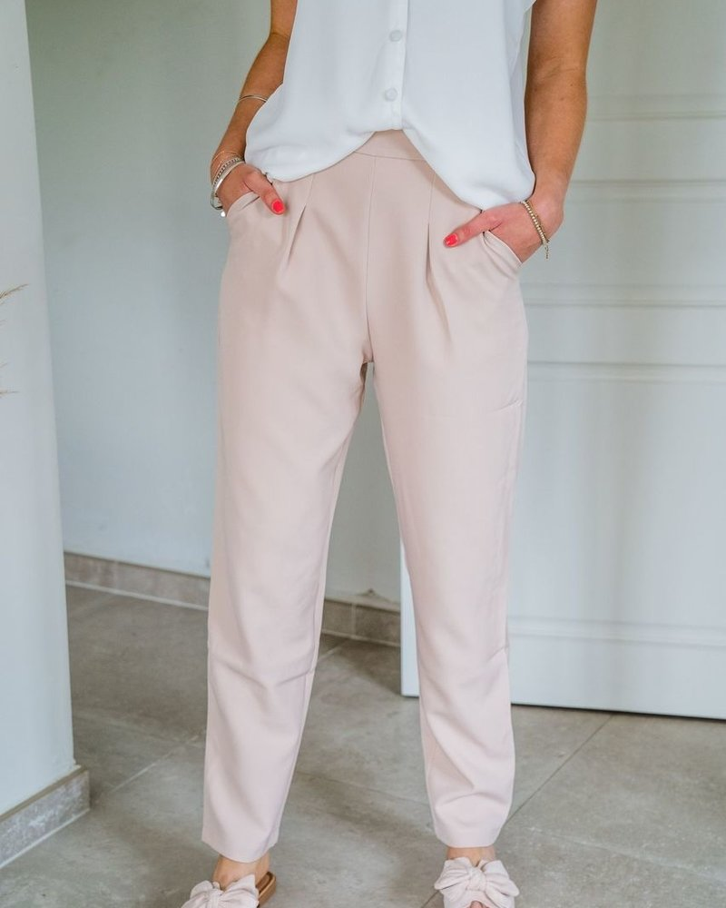 Famke Pants Soft Pink