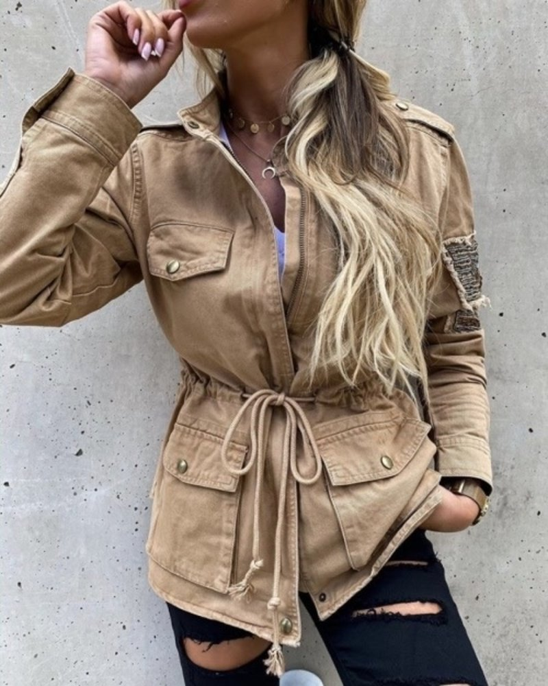 Army Jacket Beige