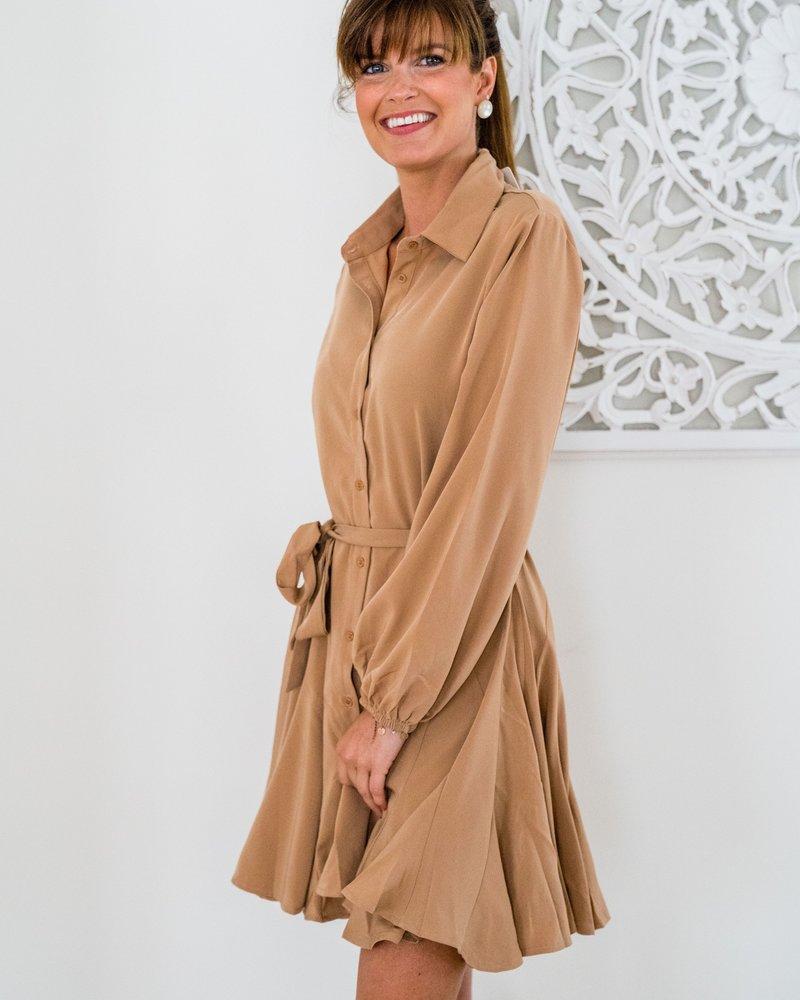 Ellie Dress Camel