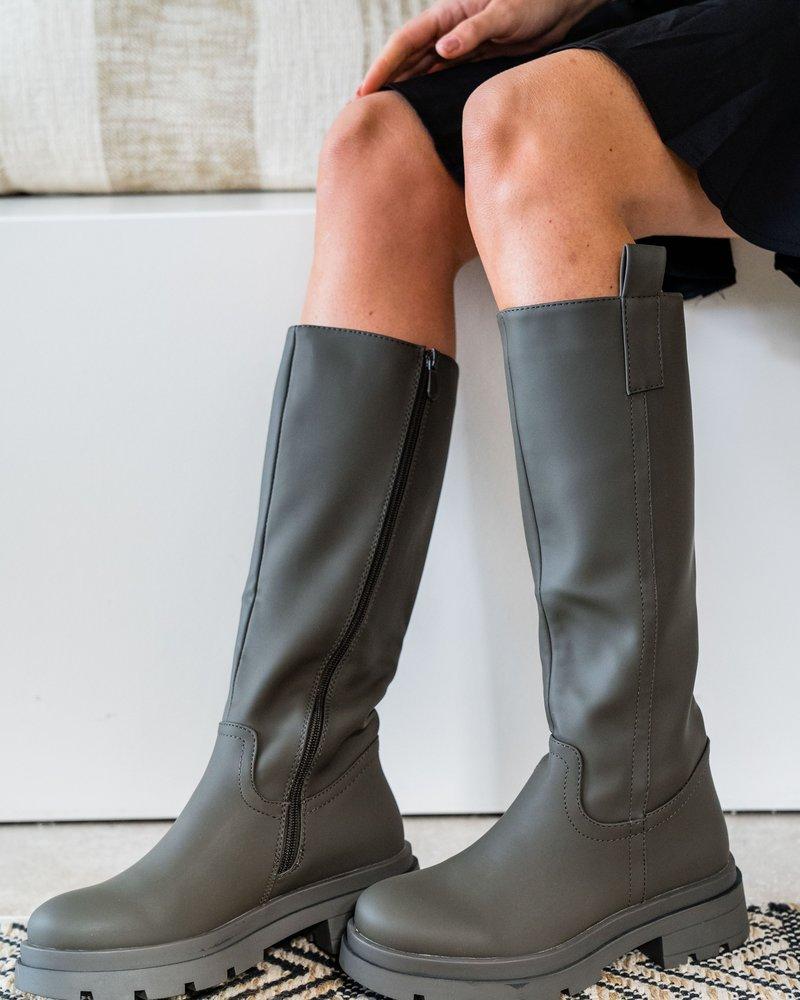 Kindra Boots Kaki