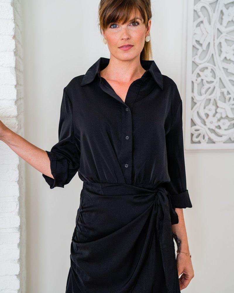 Julia Dress Black 1378