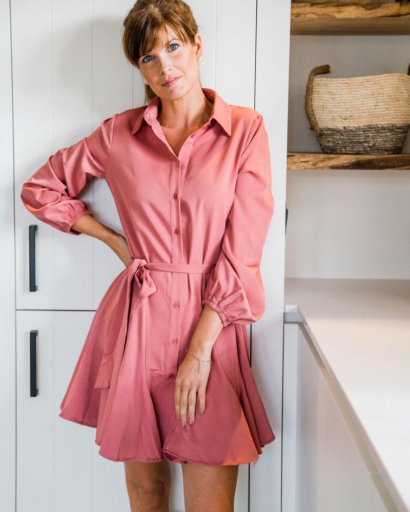 Ellie Dress Roze