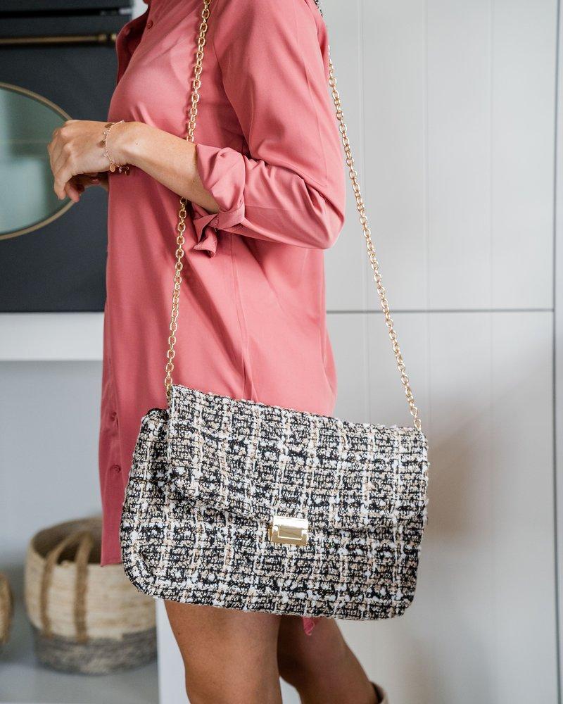 Tweed Bag Beige