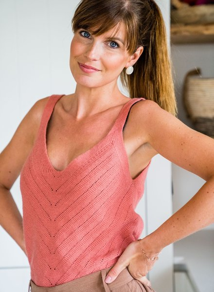 Knitted Top Roze