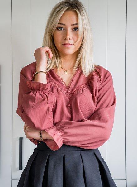 Celine Blouse Roze