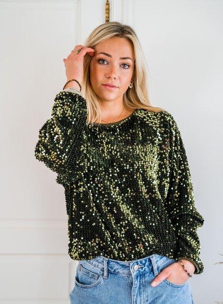 Yentl - Sequin Sweater