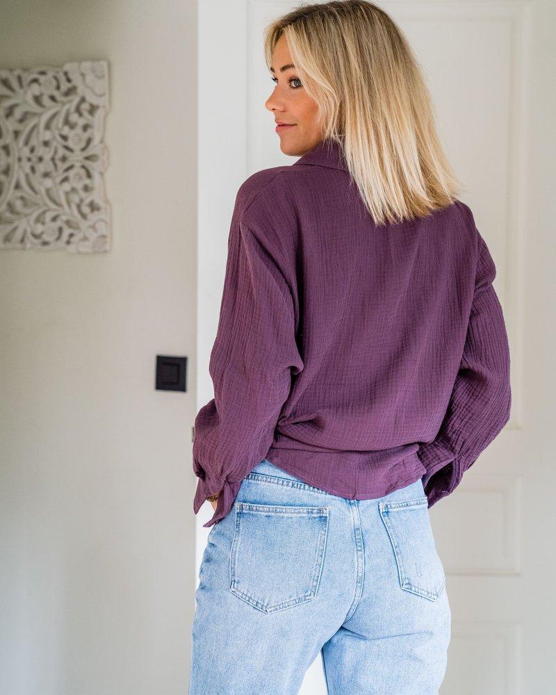 Lovely Blouse Purple
