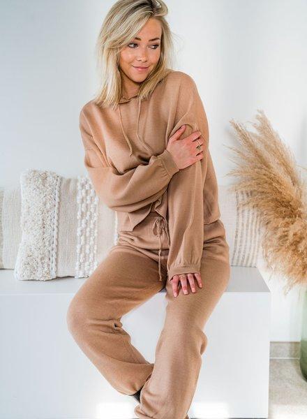 Homewear Hoody Camel