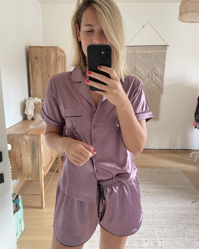 Yentl - Pyjama Set Lila