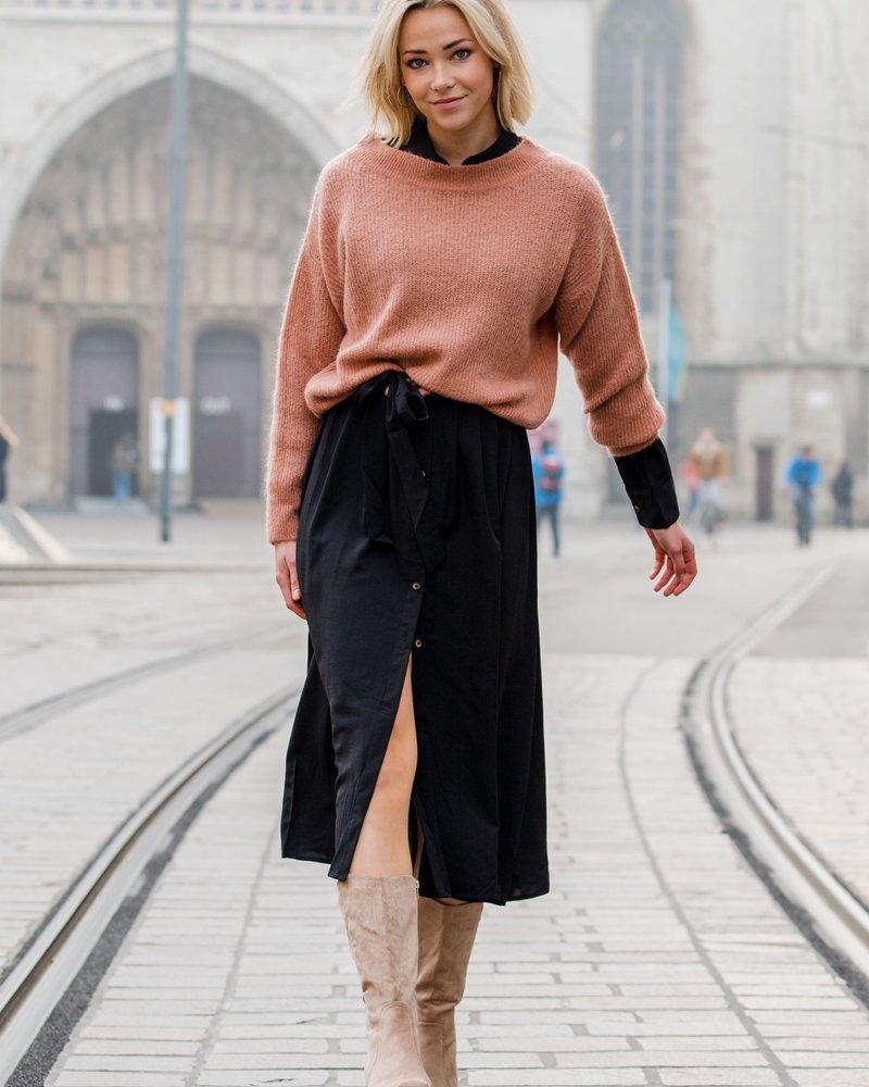 Alicia Maxi Dress Black