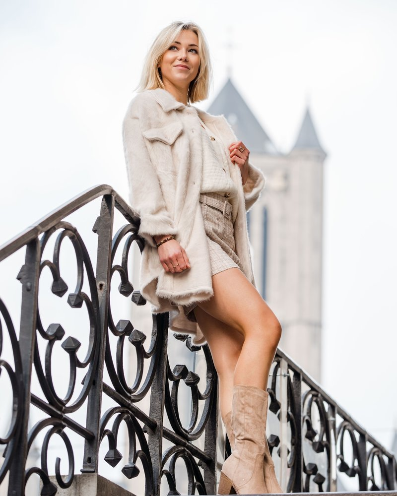 Amy Boots Beige