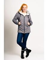S A L E   !!!   Women Winter Jacket in grey