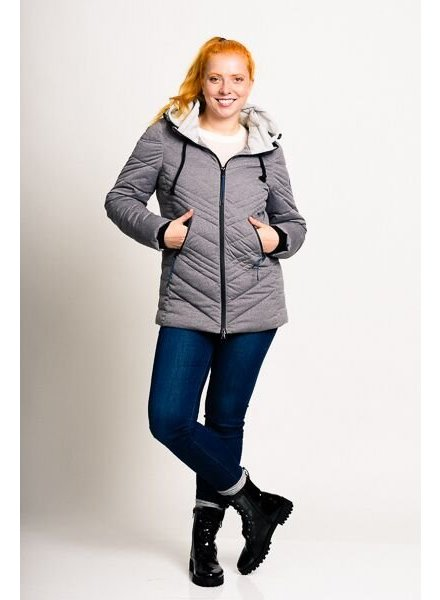 S A L E   !!!   Women Winter Jacket in grey