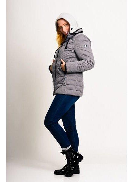 Women Winter Jacket in grey