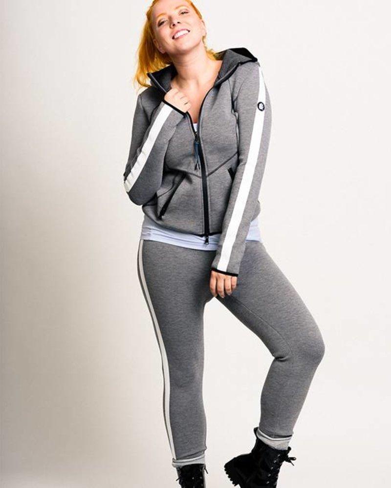 BlarS Women Scuba trousers in grey