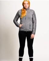Women scuba jacket in grey