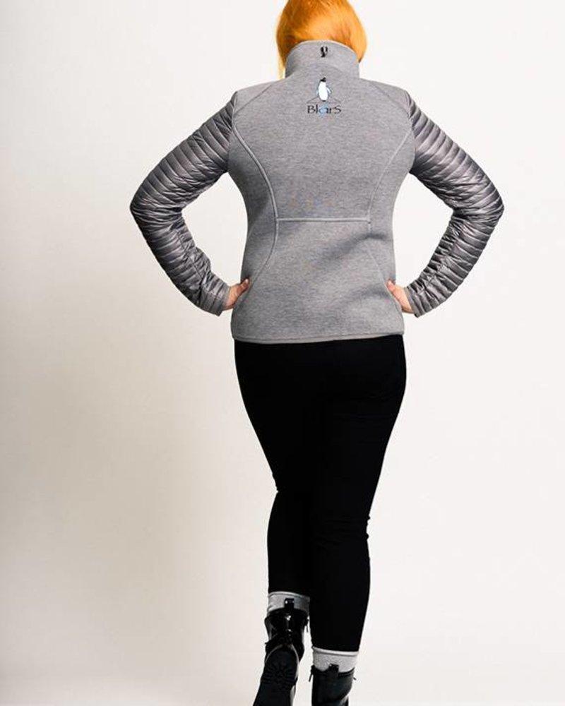 BlarS Damen Scuba-Jacke in grau