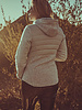 BlarS Women Fleece -Cosy-Jacket in light grey