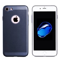 BackCover Holes Apple iPhone 7 Blauw