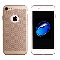 BackCover Holes Apple iPhone 7 Goud