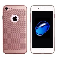 BackCover Löcher Apple iPhone 7 Plus Rose Gold
