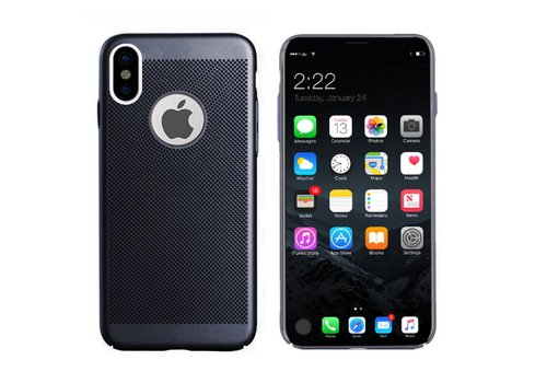Colorfone BackCover Holes iPhone X/Xs Black