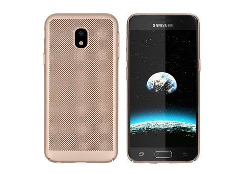 Colorfone BackCover Holes J7 2017 Gold