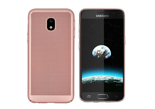 Colorfone BackCover Holes J7 2017 Rose Gold