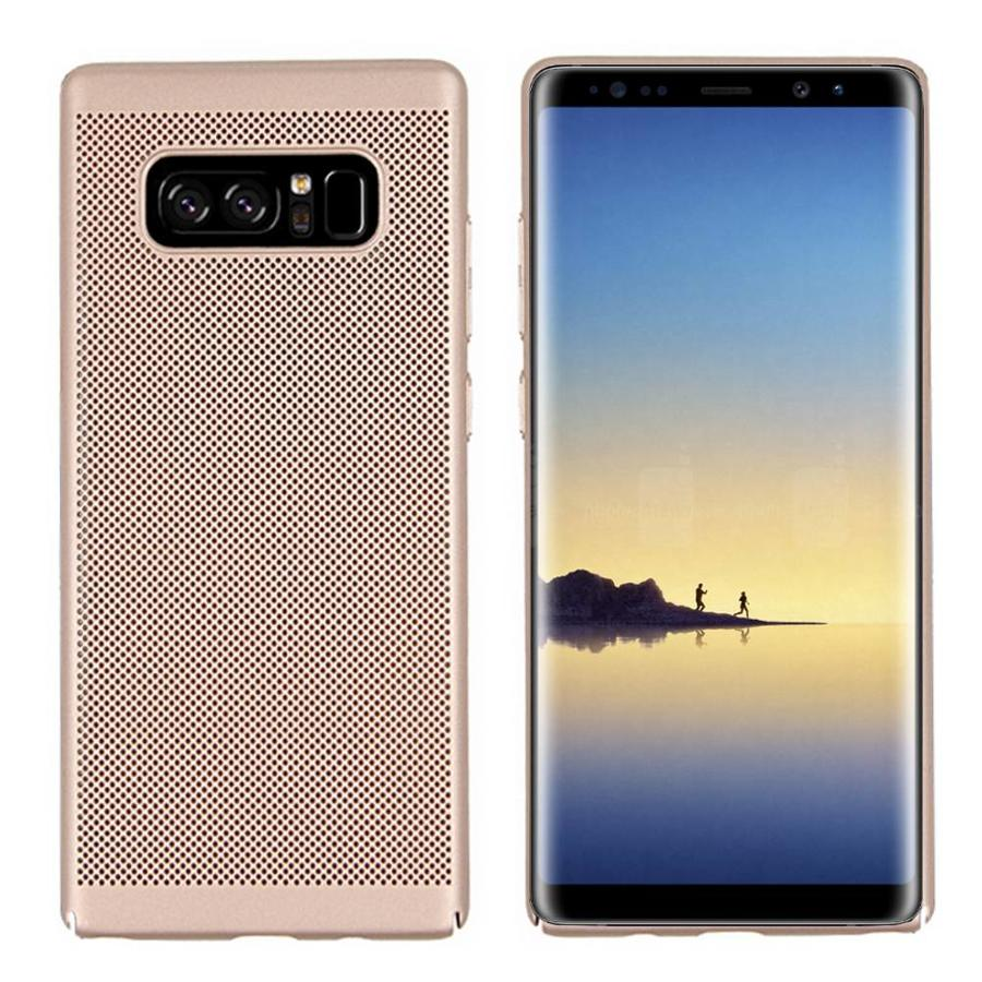 BackCover Löcher Samsung Note 8 Gold