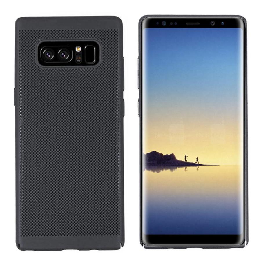 BackCover Holes Samsung Note 8 Zwart