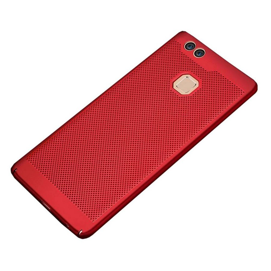 BackCover Holes Huawei P10 Lite Rood