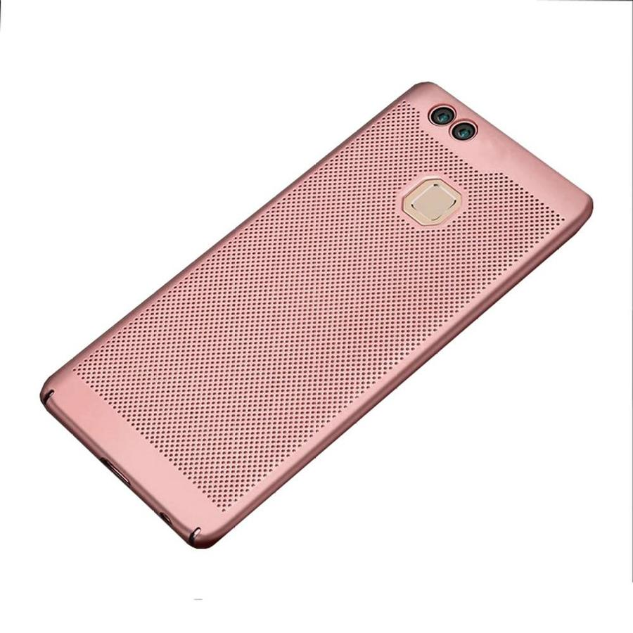 BackCover Löcher Huawei P10 Lite Rose Gold