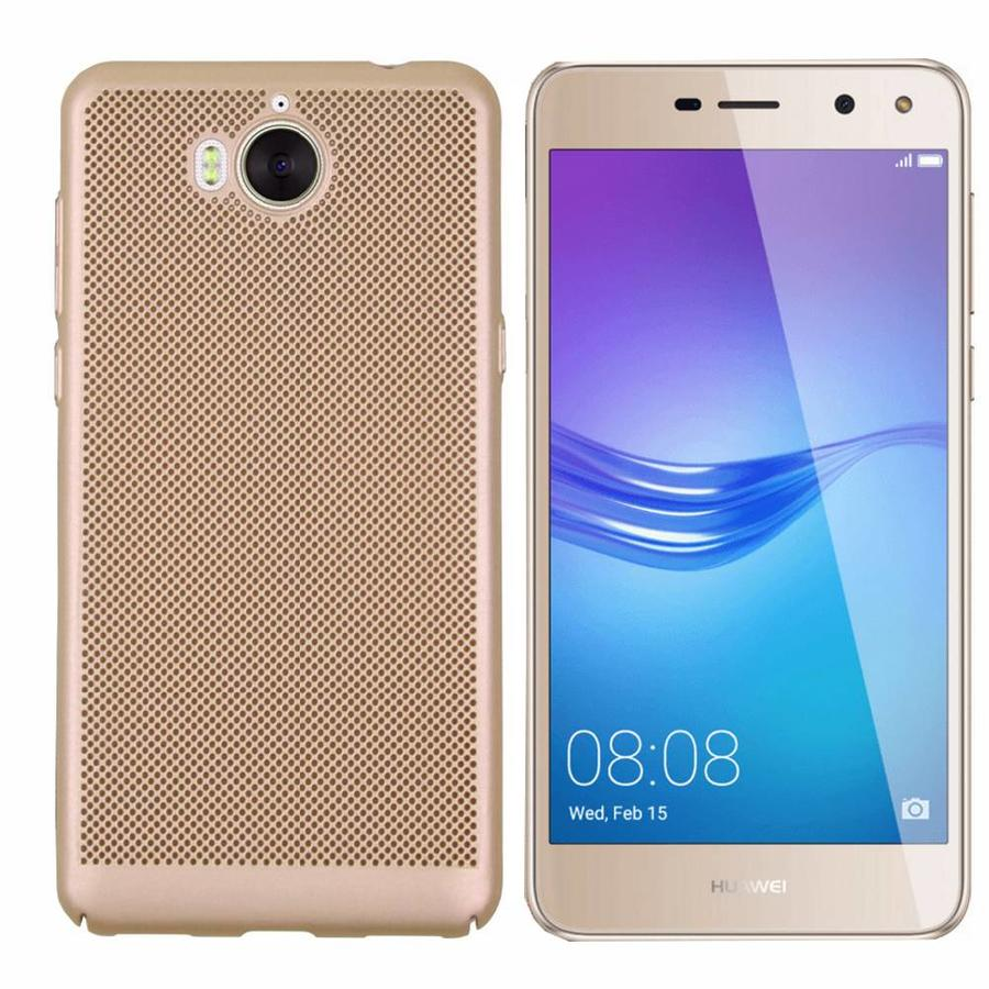 BackCover Löcher Huawei Y5 2017 / Y6 2017 Gold