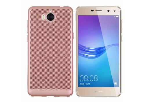 Colorfone BackCover Holes Y5 2017/Y6 2017 Rose Gold