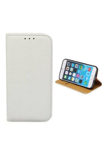 Colorfone Zarezerwuj PU iPhone 8 Plus / 7 Plus Biały