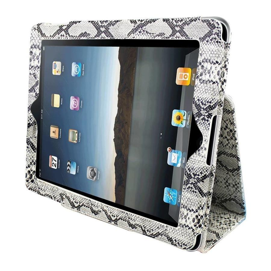 Case Business Color Nowy iPad (iPad 2/3/4) Serpentine White