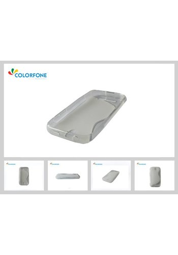 Colorfone CoolSkin3 iPhone 5C Transparant Wit