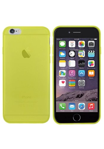 Colorfone CoolSkin3T iPhone 6 Tr. Geel